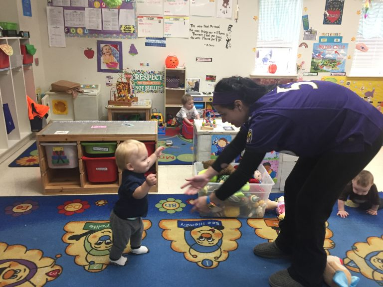 Proponents of quality early education centers say they can help reduce Delaware's achievement gap between poor students and those of means. (Cris Barrish/WHYY)
