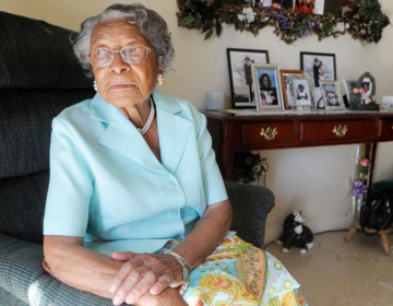 The late Recy Taylor shown in her home in Winter Haven, Fl., in 2010 (Phelan M. Ebenhack/AP)