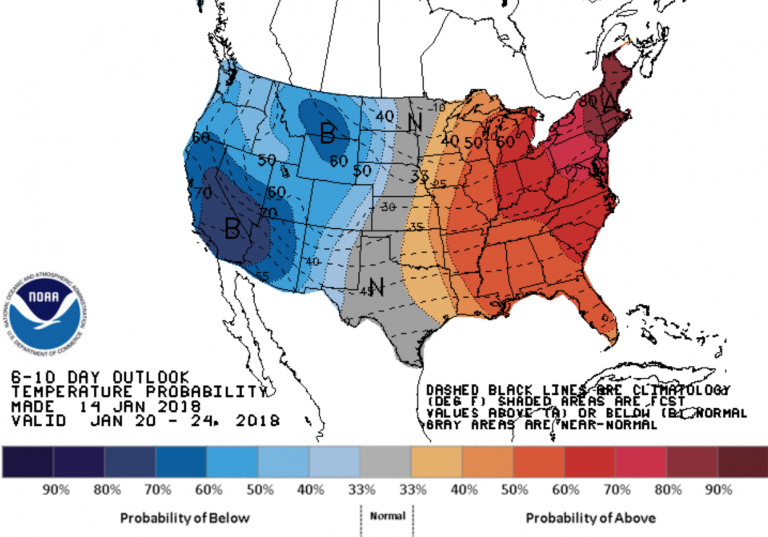 Image: National Weather Service Climate Prediction Center