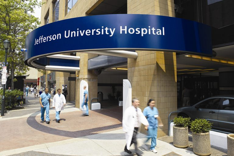 Thomas Jefferson University Hospital in Philadelphia