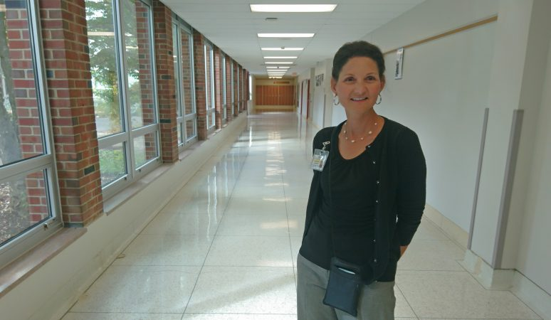 Titusville Superintendent Karen Jez grew up as a farmgirl in the area before becoming an art teacher and then an administrator (Kevin McCorry/WHYY)
