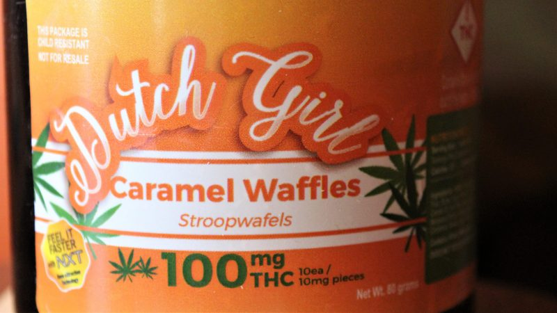 These waffles are like small cookies. The manufacturer says these are so tasty that consumers need to use