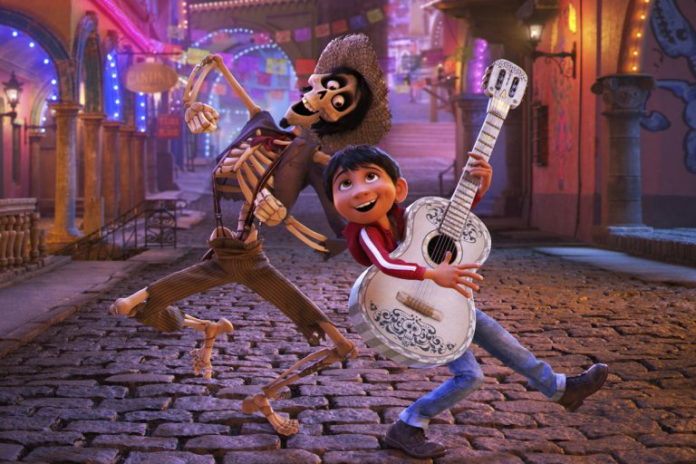 This image released by Disney Pixar shows a scene from the film