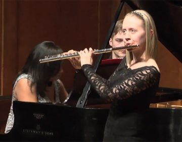 Flutist Emma Resmini