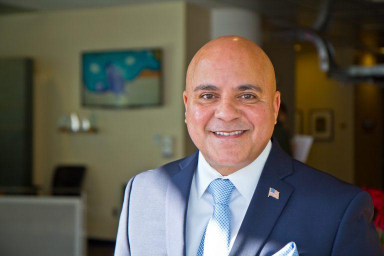 Francisco Moran is the Mayor of the City of Camden. (Kimberly Paynter/WHYY)