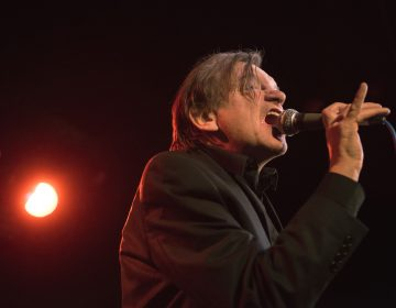 Mark E. Smith onstage with The Fall in London in 2016