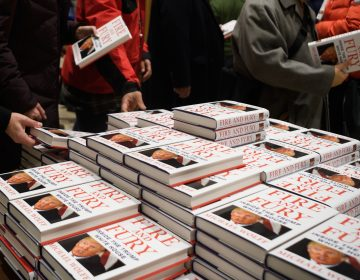 In a rush to buy journalist and author Michael Wolff's book Fire and Fury: Inside the Trump White House, buyers have mistakenly purchased Randall Hansen's book of a similar name, Fire and Fury: The Allied Bombing of Germany, 1942-1945. (Leon Neal/Getty Images)