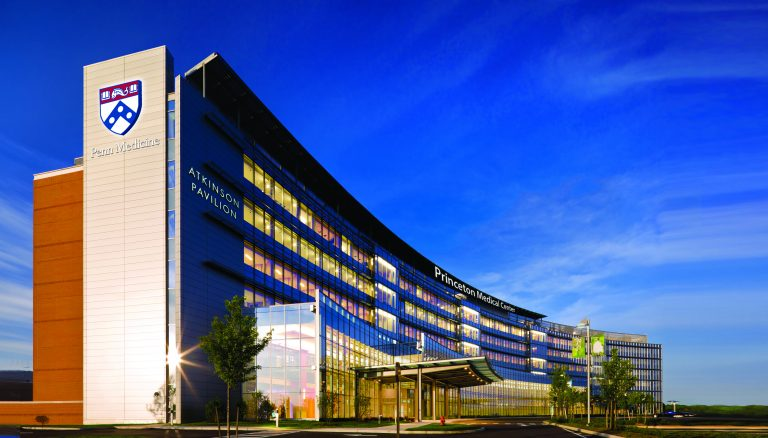 Penn Medicine's latest acquisition in Plainsboro, New Jersey, will be known as Penn Medicine Princeton Health. (Penn Medicine rendering)