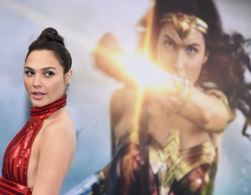 Actress Gal Gadot arrives at the