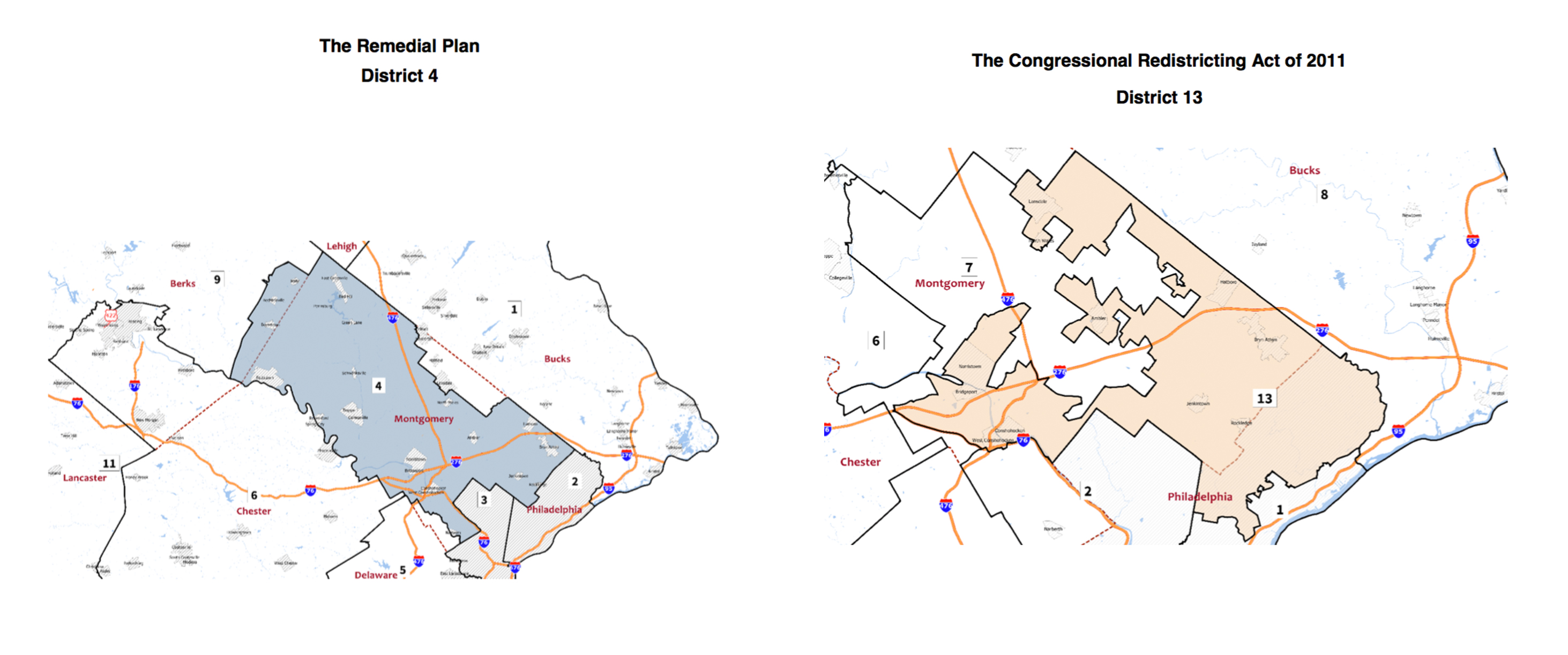 New congressional districts in Philly suburbs could help ... on frederick county md district map, pa state representatives district map, pa house district map,