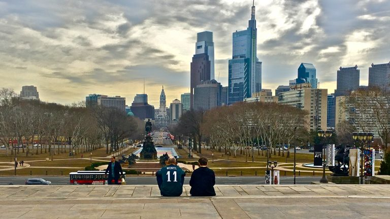 Philadelphia's standing as a sanctuary city — and whether the U.S. government can penalize it by withholding a federal grant — is again the subject of a court hearing. (Emma Lee/WHYY)
