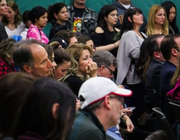 More than 200 people pack the Cherry Hill school board meeting Tuesday night, where students and parents voiced concerns over safety prompted by the Parkland, Florida, school shooting.