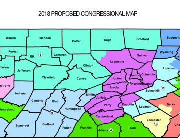 Republican lawmakers proposed a new congressional district map ordered by the Pennsylvania Supreme Court.