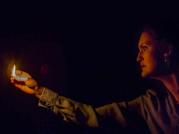 Lisa VillaMil in Hedgerow Theatre Company's production of