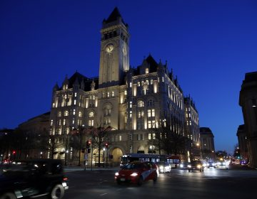 The Trump International Hotel is seen, Tuesday, Jan. 30, 2018, in Washington.