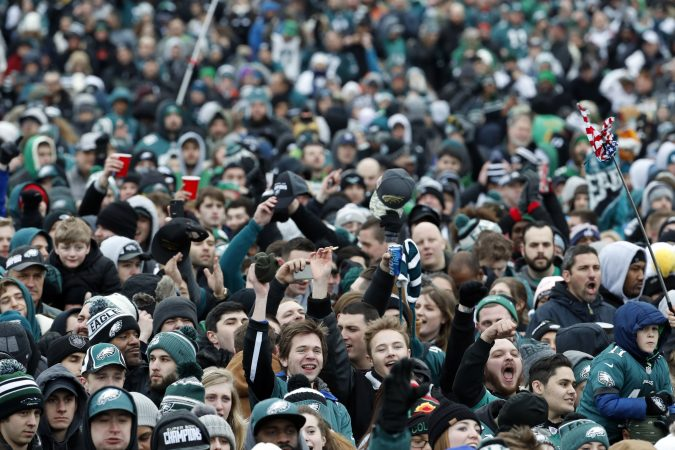 "Updated: 9:10 a.m. It's a historic day for Philly (first Eagles Super Bowl Parade ever!!) and you want to be there. Now, how to get to there? Where to start marching? Will there be food? Is Tina Fey coming? Don't worry, we got you covered. The basics: The parade starts at 10:45 a.m. at Broad Street and Pattison Avenue in South Philadelphia and ends at the Art Museum. The parade will travel north on Broad Street to City Hall, where it will wrap around and then head up the Parkway for a celebration on the Art Museum steps scheduled for 1 p.m. It's projected to last until about 3 p.m. City officials estimate that as many as 2 million people are expected to attend the parade. Commuting in for the celebration? The stadium lots are closed, but the city has lifted curbside parking restrictions today to ease congestion. The IKEA in South Philly opened its lot to parade-goers. But parking likely will still be a challenge: Some lots, like Patco's Woodcrest parking lot in Cherry Hill, New Jersey, were packed — and closed to any more drivers hunting spots — by 7:30 a.m. If you are planning to take Uber or Lyft, expect to pay premium or surge pricing. There are reports of people paying as much as $30 to go just eight blocks. And SEPTA warned that service changes that normally would appear on its app might be wrong, due to parade chaos, and suggested riders first check the special Eagles Parade section of its website here before traveling. Walking might be your best bet today, as Destiny Daye found out as she waited for the Broad Street Line to get to her job at Penn. Normally she'd transfer to the El at City Hall, but that's closed today. ""I'm happy the Eagles won, but this is frustrating,"" said Daye, 20, of North Philly, who planned to ditch public transit and walk. Read here for details on getting around. Crowds have gathered already at key point on the parade route, including at the Art Museum, where bundled-up fans chanted the Eagles cheer into the frigid morning. Lines at many Regional Rail stations snaked around walkways and parking lots, as revelers tried to beat the rush into the city. At the Norristown Transportation Center, nearly 100 people had lined up by 6:40 a.m., an hour before the next citybound train was scheduled to leave. Rocco Granato, of King of Prussia, is taking his son Christopher Strohm to the parade."