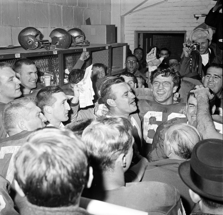 not a super bowl but remembering that 1960 eagles championship