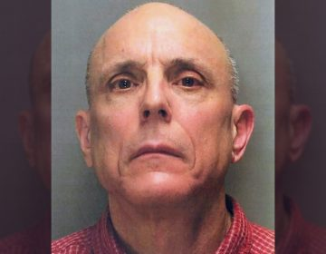 This undated photo shows Richard O'Rourke of Warrington, Pa., a former senior analytical chemist for Merck & Co. charged with causing or risking catastrophe, theft, receiving stolen property and recklessly endangering another person. Prosecutors say O'Rourke stole potassium cyanide from a laboratory at the pharmaceutical firm to use for pest control at home, but poured it down a suburban Philadelphia storm drain Dec. 15, 2017, when he learned there was an investigation. (Montgomery County District Attorney's Office via AP)