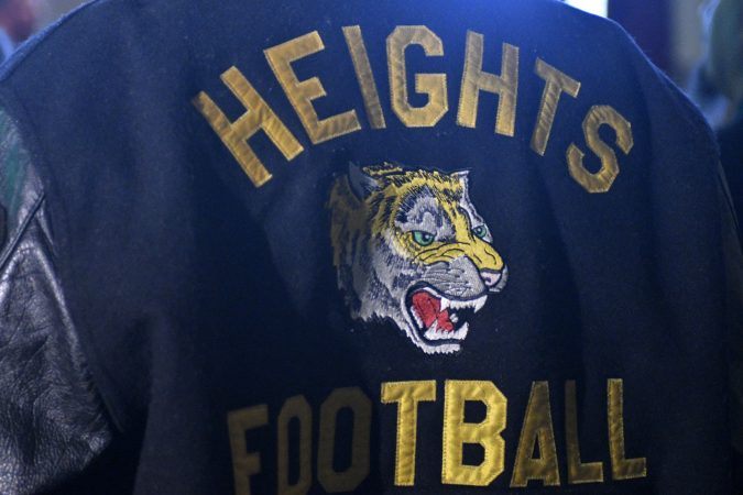 Before Jason Kelce was a Philadelphia Eagle he was a Cleveland Heights Tiger (Bastiaan Slabbers/for WHYY)