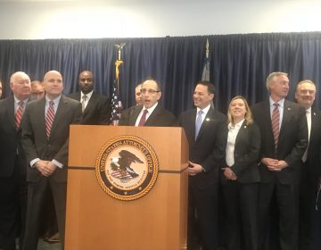 "U.S. Attorney Lou Lappen says Philadelphia's idea of establishing a facility for those struggling with opioid addiction to use drugs under medical supervision sounds like a ""self-suicide site."" (Bobby Allyn/WHYY)"