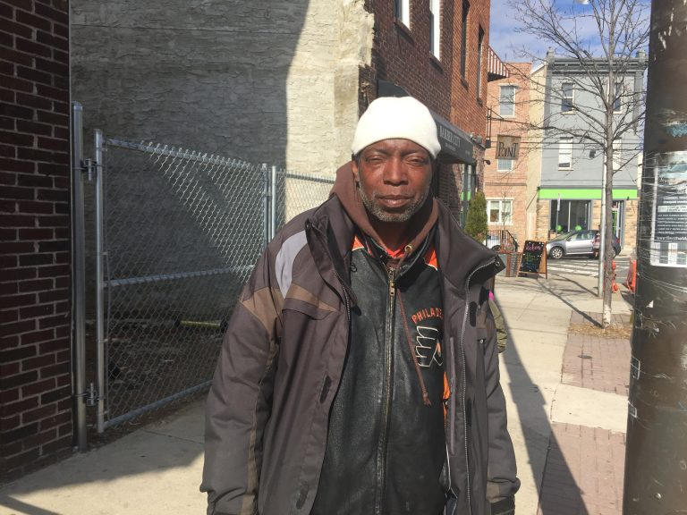 Reginald Moore, 60, of Philadelphia's Point Breeze neighborhood, is a SNAP beneficiary and a critic of Trump's plan to overhaul the program.