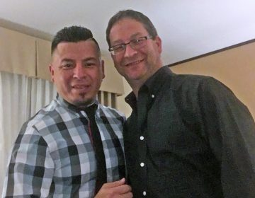 "On Jan. 31, when Jose ""Ivan"" Nuñez and Paul Frame showed up in Philadelphia for a mandatory interview to adjust Nuñez's immigration status, U.S. Immigration and Customs Enforcement officers arrested him. (Provided)"
