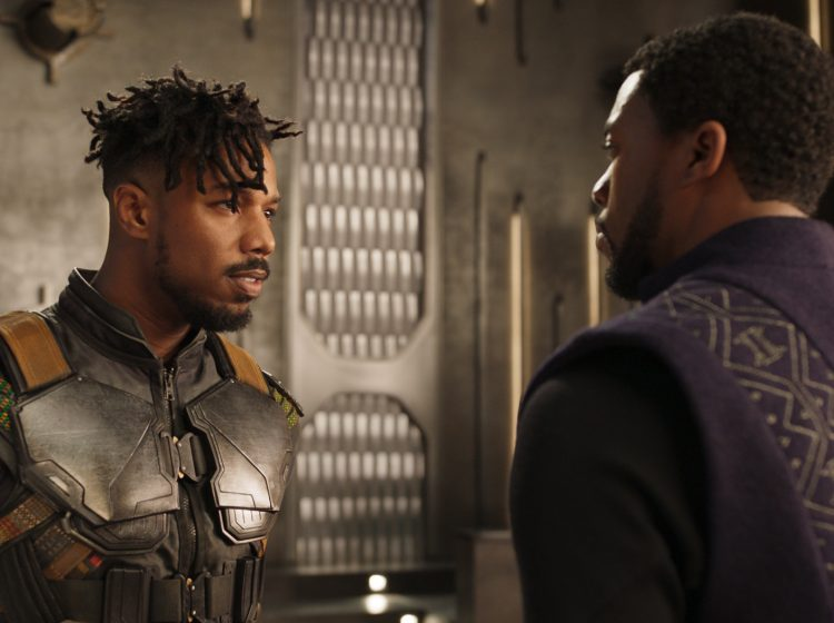 Since no Hollywood movie with a predominantly black cast has ever had a bigger budget, there's a feeling of collective stakes Black Panther's its critical and commercial reception. (Marvel/Disney/AP)