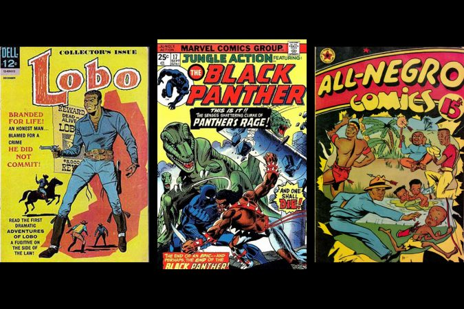 Lobo, Jungle Action, All-Negro Comics