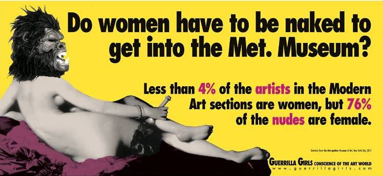Do women have to be naked to get into the Met Museum?