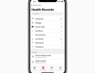 New capabilities in Health Records help patients see medical records from multiple providers.