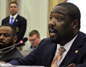 Philadelphia City Councilman Kenyatta Johnson. (Emma Lee/WHYY)