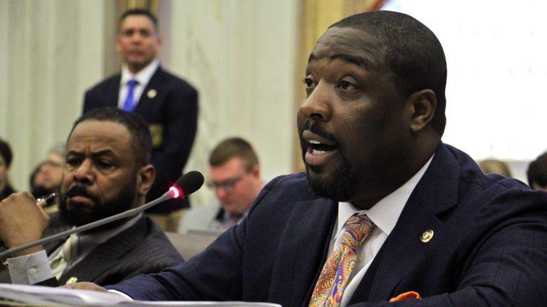 Philadelphia City Councilman Kenyatta Johnson. (Emma Lee/WHYY)
