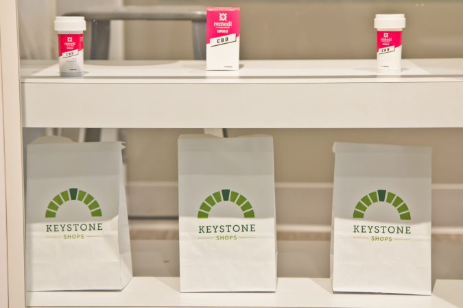 The Keystone Shops is located at 420 Lancaster Avenue in Devon, Pa. (Kimberly Paynter/WHYY)
