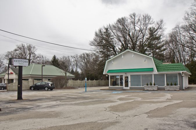 The Keystone Shops is located at 420 Lancaster Avenue in Devon, Pa., in a former Dairy Queen. (Kimberly Paynter/WHYY)