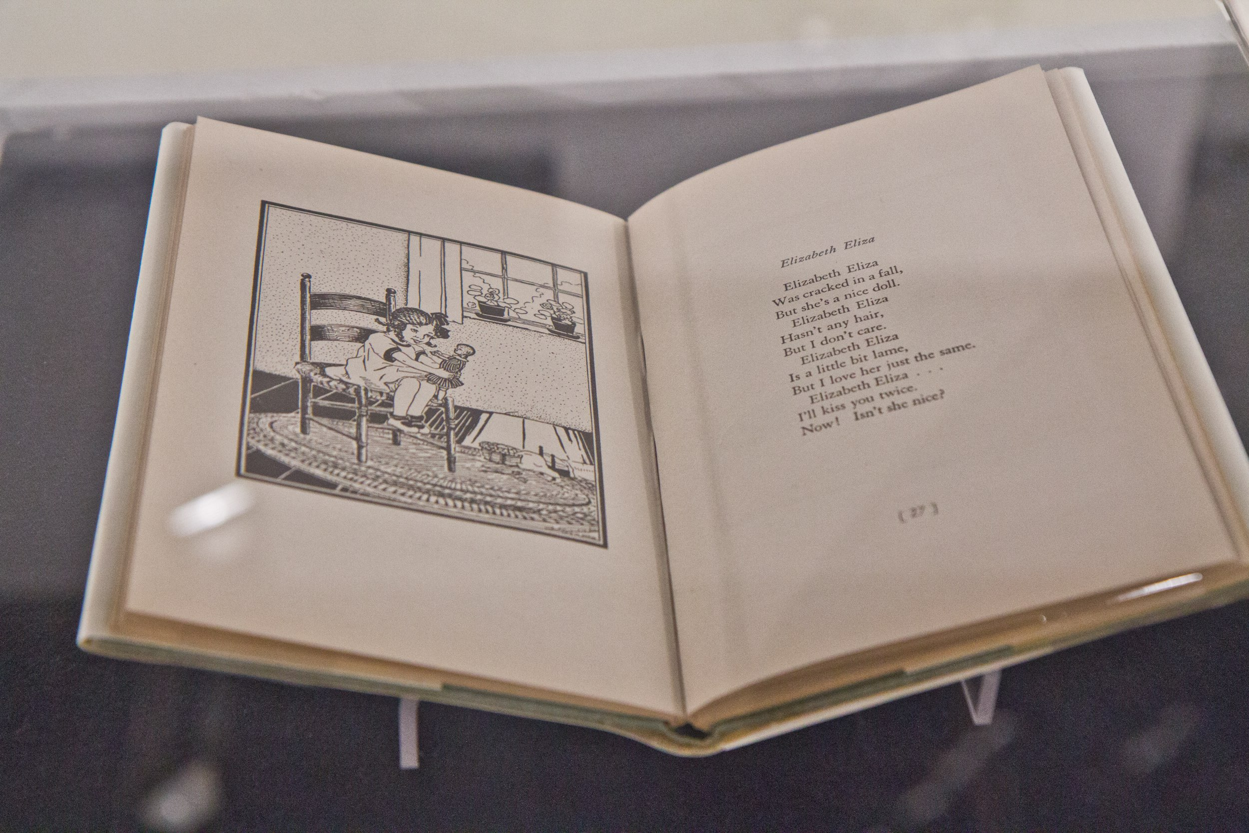 """The Picture Poetry Book"""" (1935) by Gertrude Parthenia McBrown"""