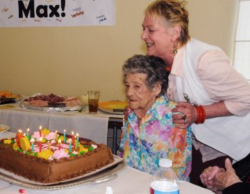 Maxine Stanich celebrated her 90th birthday with friends and family in 2010, more than two years after her implanted defibrillator was deactivated by Dr. Rita Redberg to comply with Stanich's
