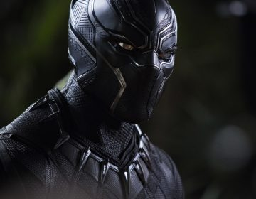 The triangular patterns visible in Chadwick Boseman's Black Panther suit reflect what costume designer Ruth Carter calls