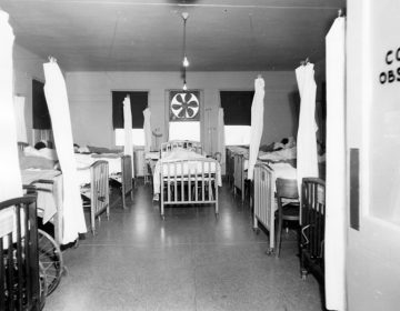 A segregated obstetrics ward at University Hospital,University of Alabama, Birmingham. (Courtesy of UAB)