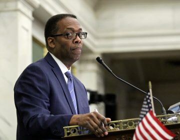 City Council President Darrell Clarke. (Emma Lee/WHYY)