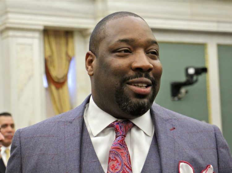 City Councilman Kenyatta Johnson. (Emma Lee/WHYY)