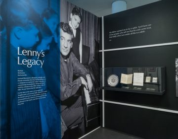 National Museum of American Jewish History celebrates Leonard Bernstein's 100th birthday with an exhibit,