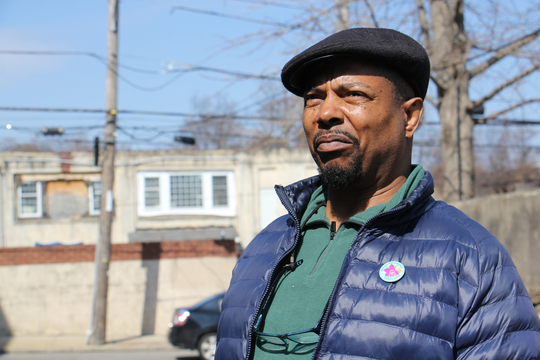 Ted Stone is a longtime resident of Germantown and has seen the devastating effects of poorly maintained properties.