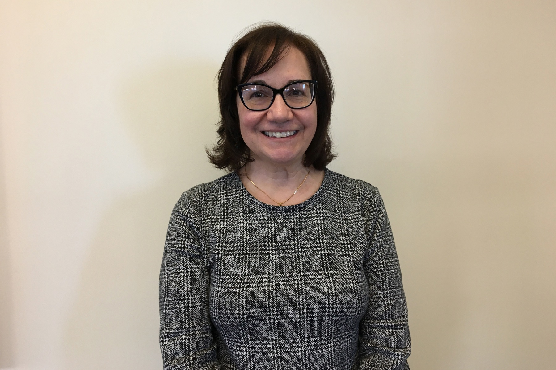 Dr. Annette Reboli, dean of Cooper Medical School.