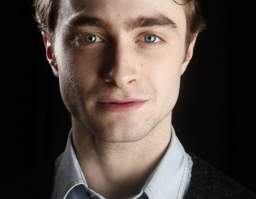 Actor Daniel Radcliffe poses for a portrait while promoting the film