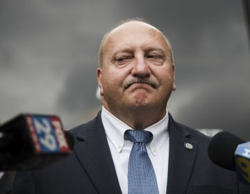 Allentown Mayor Edwin Pawlowski, pictured in this Thursday, July 27, 2017 file photo, announced his resignation days after being found guilty of federal corruption charges. (Matt Rourke/AP Photo)