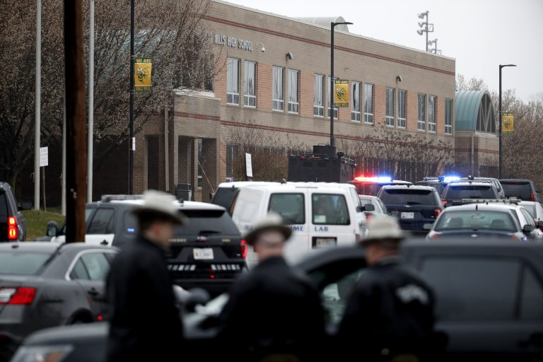 Deputies and federal agents converge on Great Mills High School