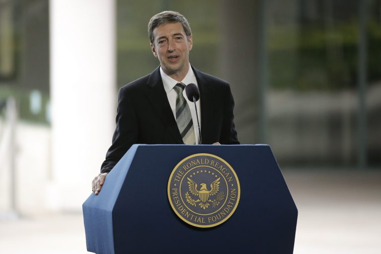 Ron Reagan, son of late former President Ronald Reagan and Nancy Reagan