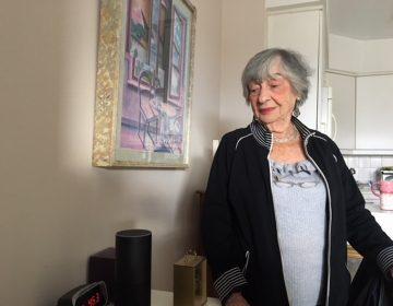 Cecelia Banks, 92, and her Amazon Alexa device.