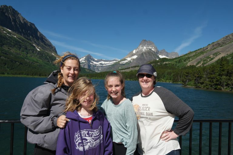 The author's niece, daughters and wife. (Jeff Bogle)
