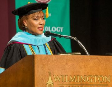 Wilmington University President LaVerne T. Harmon, the first black woman to head a Delaware college or university, had her formal inauguration Thursday. (Courtesy of Wilmington University)